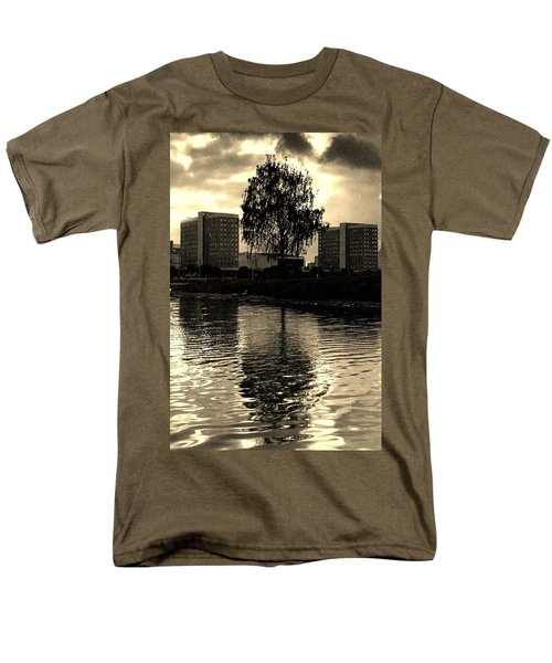 Minsk Dramatic View Men's T-Shirt  (Regular Fit) by Vadim Levin
