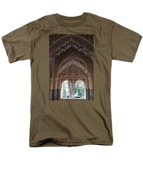 Men's T-Shirt  (Regular Fit) featuring the photograph Mirador De Daraxa by Christian Zesewitz