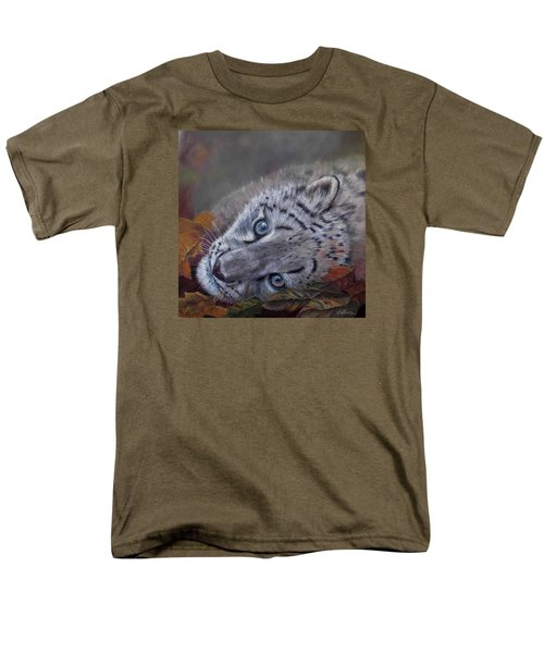 Mirucha In Fall Men's T-Shirt  (Regular Fit) by Ceci Watson