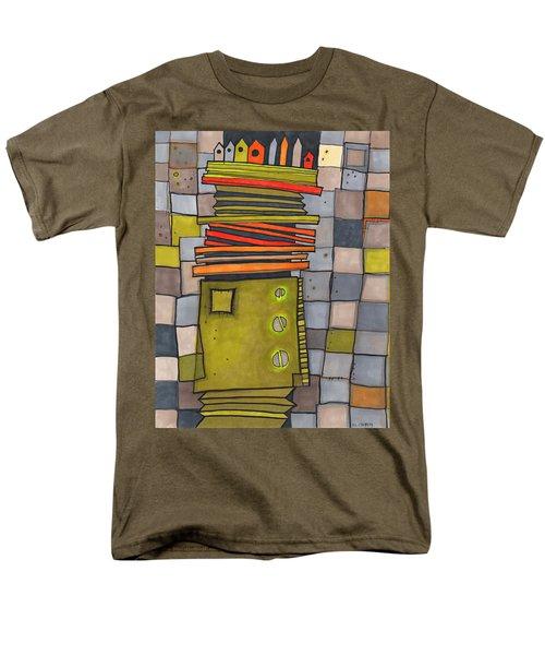 Misconstrued Housing Men's T-Shirt  (Regular Fit) by Sandra Church