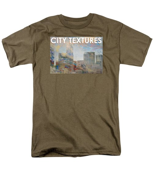 Misty City Textures Men's T-Shirt  (Regular Fit) by John Fish
