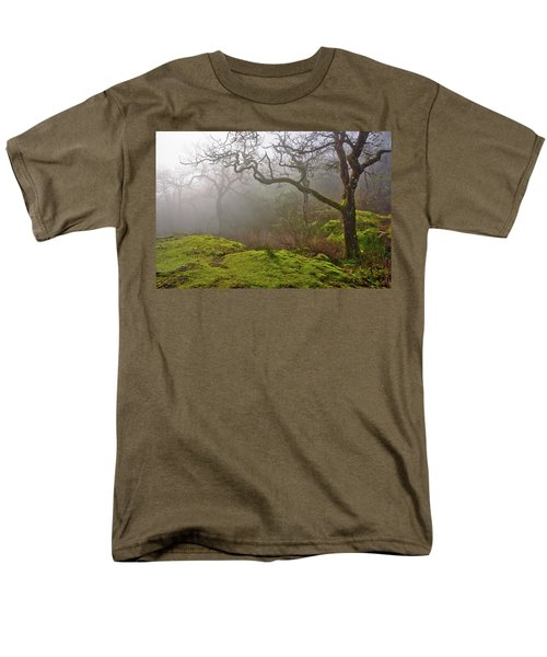 Misty Forest Men's T-Shirt  (Regular Fit) by Keith Boone