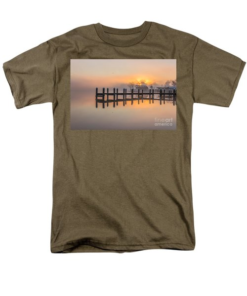 Men's T-Shirt  (Regular Fit) featuring the photograph Misty Morning by Brian Wright