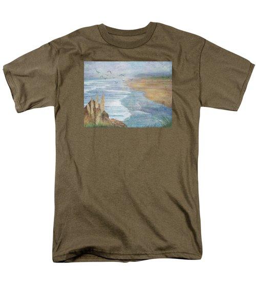 Misty Retreat Men's T-Shirt  (Regular Fit) by Christina Lihani
