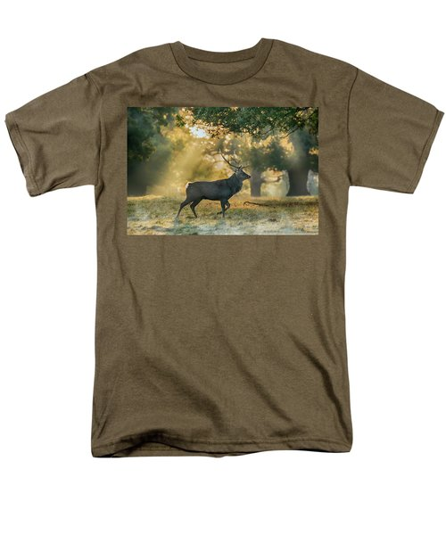 Men's T-Shirt  (Regular Fit) featuring the photograph Misty Walk by Scott Carruthers