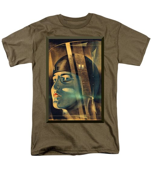 Men's T-Shirt  (Regular Fit) featuring the photograph Metropolis Maria Transformation by Robert G Kernodle