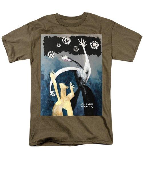 Mmxvii The Ascension No. 2  Men's T-Shirt  (Regular Fit)
