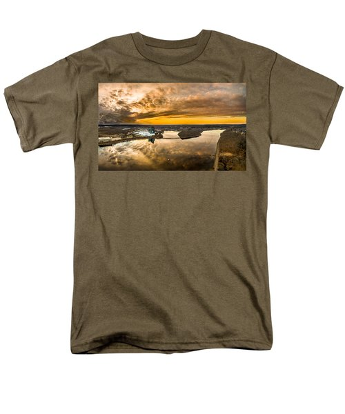 Mohegan Sun Sunset Men's T-Shirt  (Regular Fit) by Petr Hejl