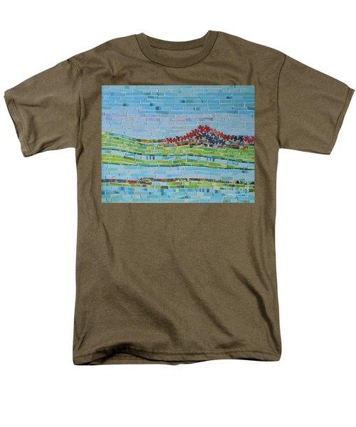 Mole Hill Reborn Men's T-Shirt  (Regular Fit) by Judith Espinoza
