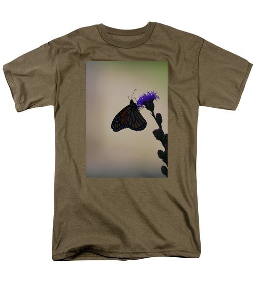 Men's T-Shirt  (Regular Fit) featuring the photograph Monarch Beauty by Ramona Whiteaker