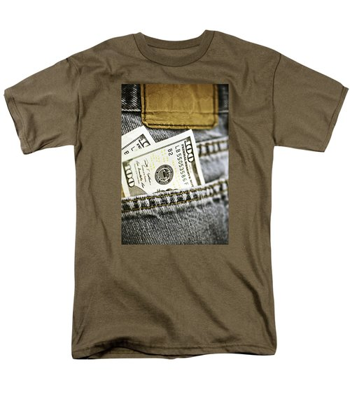 Men's T-Shirt  (Regular Fit) featuring the photograph Money Jeans by Trish Mistric