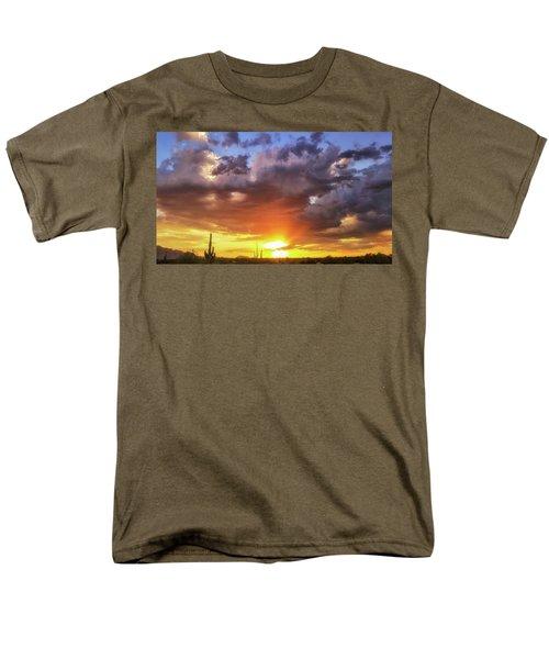 Monsoon Sunset Men's T-Shirt  (Regular Fit) by Anthony Citro