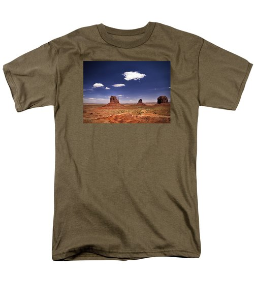 Monument Valley Men's T-Shirt  (Regular Fit) by James Bethanis