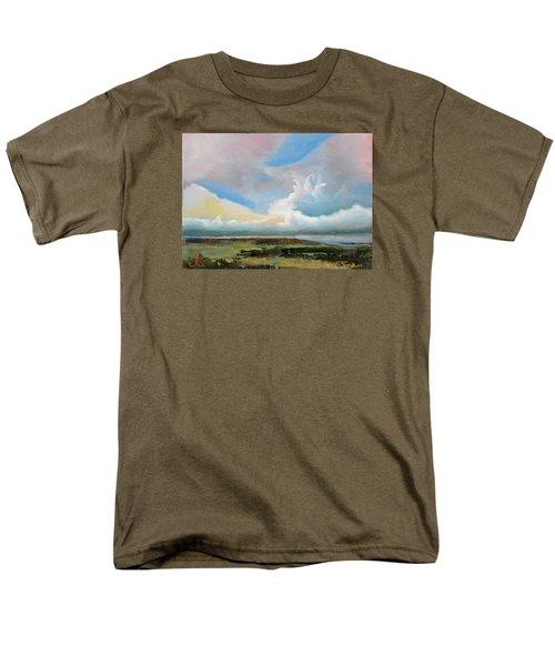 Moody Skies Men's T-Shirt  (Regular Fit) by Trina Teele