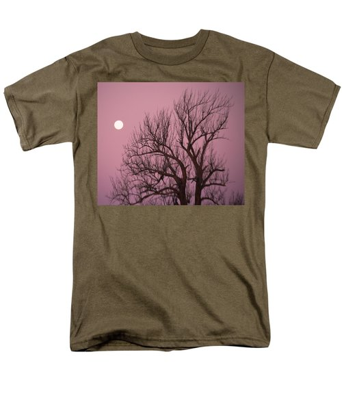 Moon And Tree Men's T-Shirt  (Regular Fit) by Sumoflam Photography