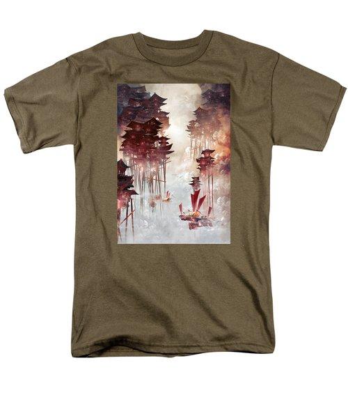 Moon Palace Men's T-Shirt  (Regular Fit) by Te Hu
