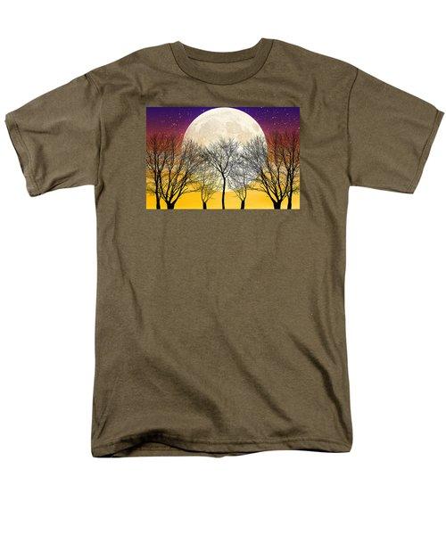 Moonlight Men's T-Shirt  (Regular Fit) by Swank Photography