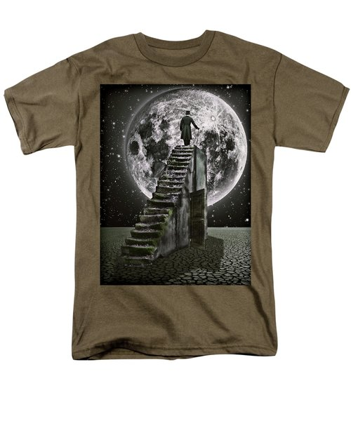 Moonrise Men's T-Shirt  (Regular Fit) by Mihaela Pater