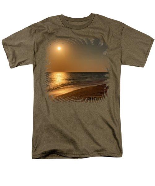 Moonscape 3 Men's T-Shirt  (Regular Fit) by John M Bailey