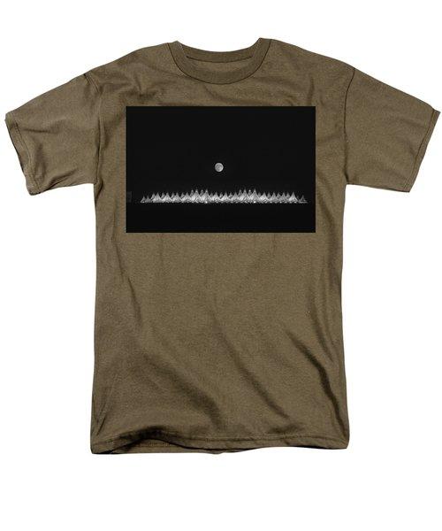 Moonset Over Dia Men's T-Shirt  (Regular Fit) by Kristal Kraft