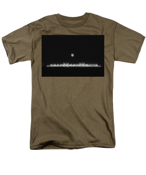 Moonset Over Dia Men's T-Shirt  (Regular Fit)