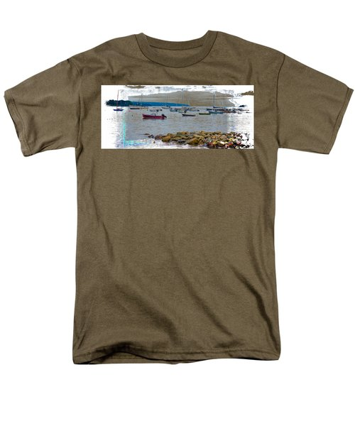 Moorings Mug Shot Men's T-Shirt  (Regular Fit) by John M Bailey