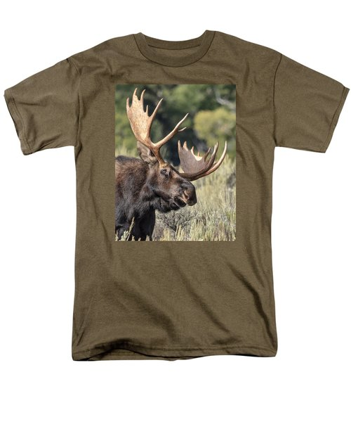 Moose Men's T-Shirt  (Regular Fit) by John Gilbert