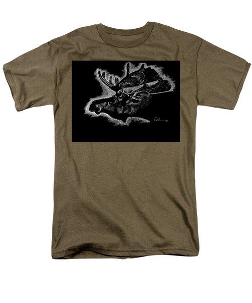 Moose Men's T-Shirt  (Regular Fit) by Lawrence Tripoli