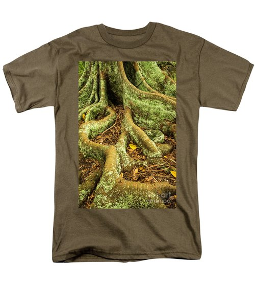 Men's T-Shirt  (Regular Fit) featuring the photograph Moreton Bay Fig by Werner Padarin