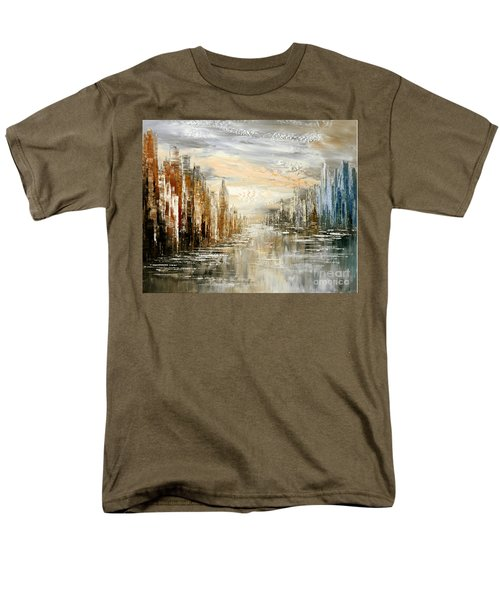 Morning By The Sea Men's T-Shirt  (Regular Fit) by Tatiana Iliina