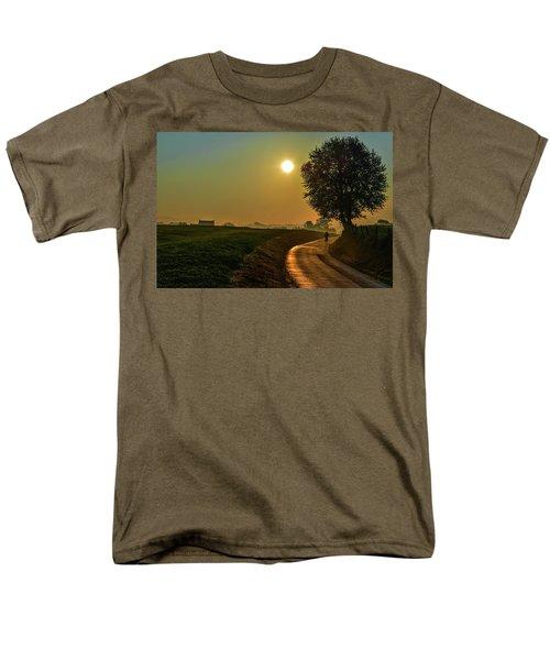 Morning Dew In Color Men's T-Shirt  (Regular Fit) by Rainer Kersten