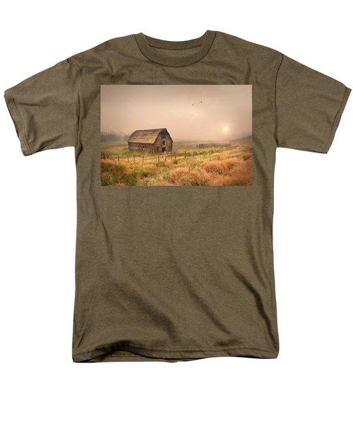 Men's T-Shirt  (Regular Fit) featuring the photograph Morning Flight by John Poon
