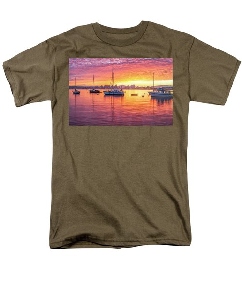 Morning Glow Men's T-Shirt  (Regular Fit) by Joseph S Giacalone