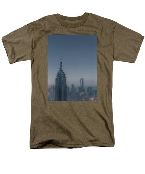 Morning In New York Men's T-Shirt  (Regular Fit) by Chris Fletcher