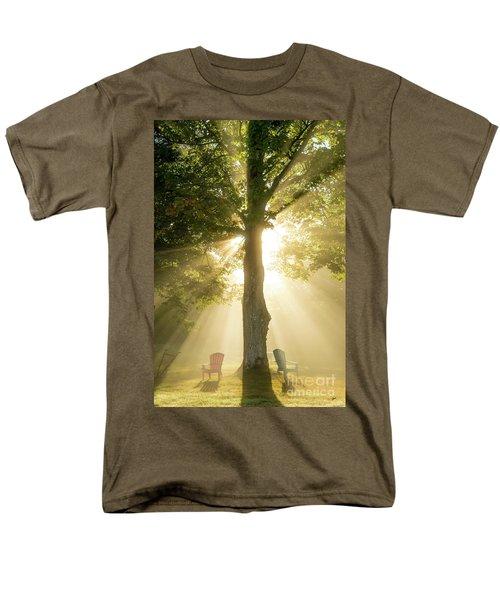 Morning Light Shining Down Men's T-Shirt  (Regular Fit) by Alana Ranney