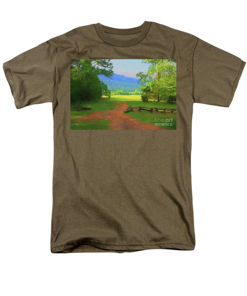 Morning View Men's T-Shirt  (Regular Fit) by Geraldine DeBoer