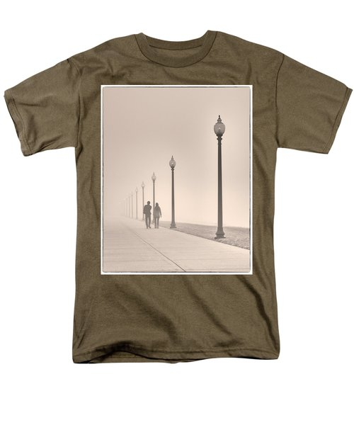 Morning Walk Men's T-Shirt  (Regular Fit) by Don Spenner