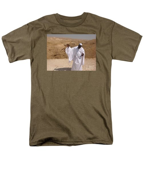 Men's T-Shirt  (Regular Fit) featuring the photograph Moses by Simon