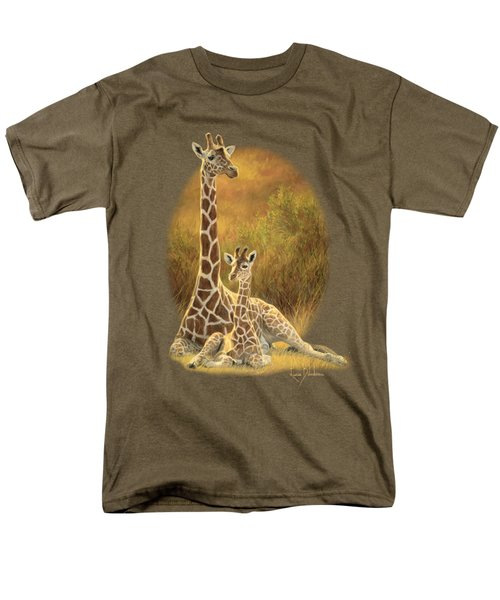 Mother And Son Men's T-Shirt  (Regular Fit) by Lucie Bilodeau