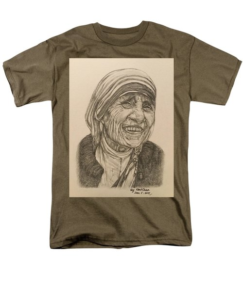 Mother Theresa Kindness Men's T-Shirt  (Regular Fit) by Kent Chua