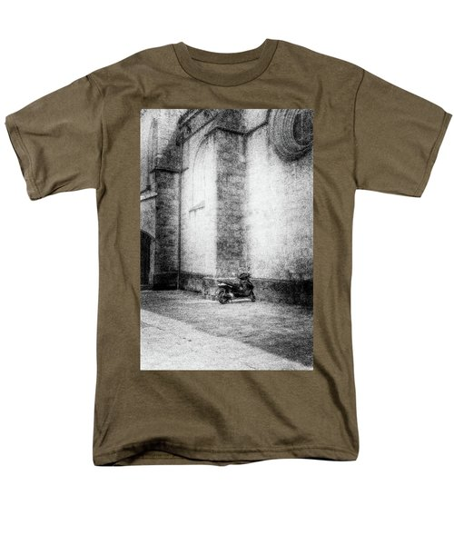 Motorcycles Also Like To Pray Men's T-Shirt  (Regular Fit) by Celso Bressan