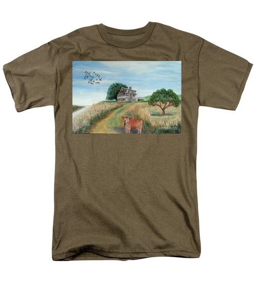 Mount Hope Plantation Men's T-Shirt  (Regular Fit) by Lyric Lucas