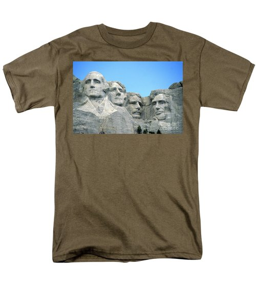 Mount Rushmore Men's T-Shirt  (Regular Fit) by American School