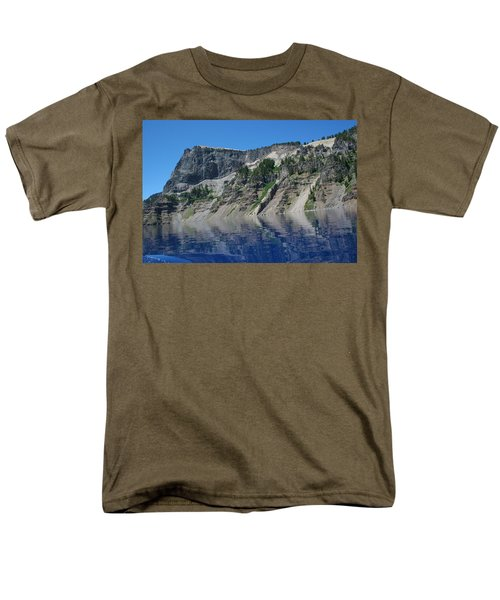 Men's T-Shirt  (Regular Fit) featuring the photograph Mountain Blue by Laddie Halupa