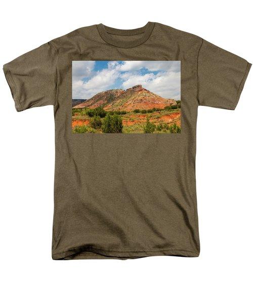 Mountain In Palo Duro Canyons Men's T-Shirt  (Regular Fit)