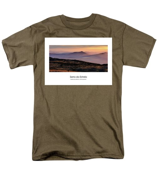 Men's T-Shirt  (Regular Fit) featuring the photograph Mountain Mist Poster by Marion McCristall