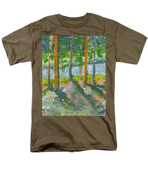 Mountain Valley Men's T-Shirt  (Regular Fit) by Rodger Ellingson