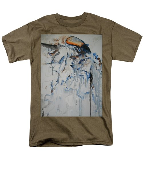 Men's T-Shirt  (Regular Fit) featuring the painting Moving Forward by Raymond Doward