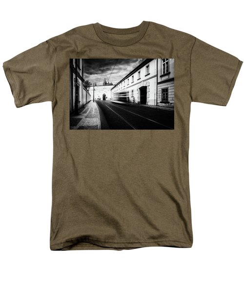 Street Tram Men's T-Shirt  (Regular Fit) by M G Whittingham