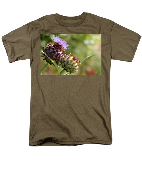 Mr And Mrs Thistle  Men's T-Shirt  (Regular Fit) by Jeremy Lavender Photography